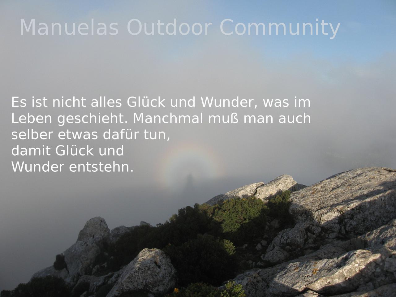 wunder sprüche Wunder Spruch: Outdoor Community wunder sprüche