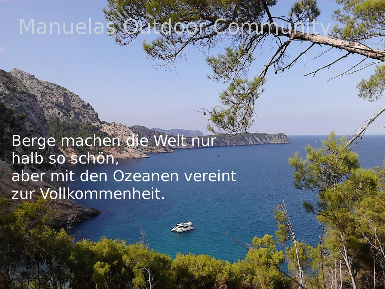 Welt  Spruch Mallorca: Outdoor Community