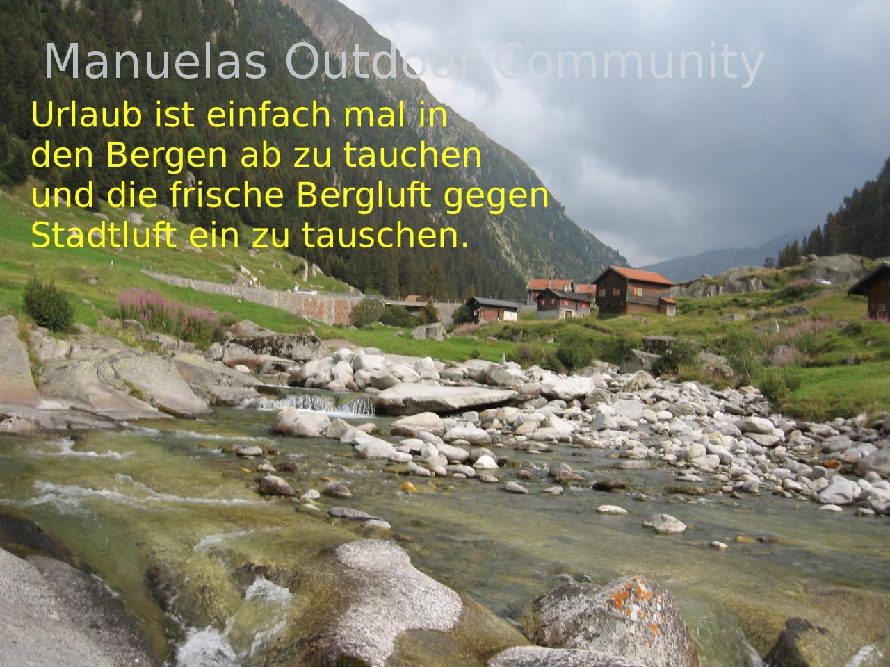 Berg urlaub spruch graub nden schweiz outdoor community - Spruch urlaub ...