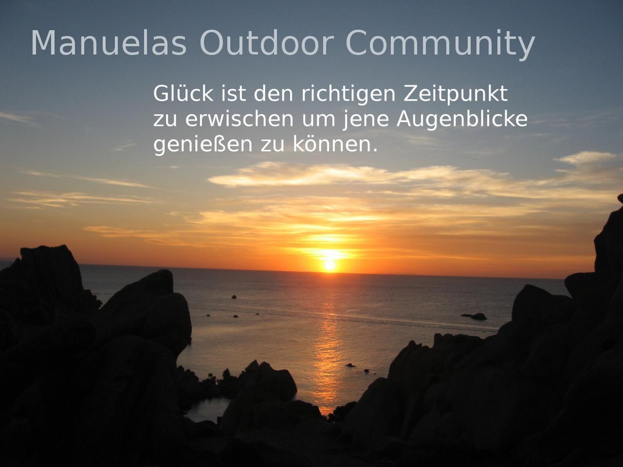 Spruch Augenblicke Outdoor Community
